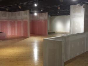 costruzione muratura pavimentazione negozio