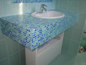 muratura restauro bagno mosaico