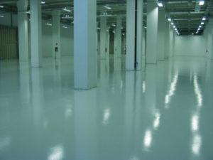 pavimentazione impianto elettrico capannone perugia