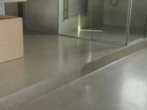pavimentazione soppalco bagno appartamento perugia