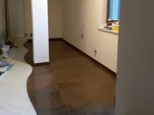 pavimento personalizzato appartamento perugia