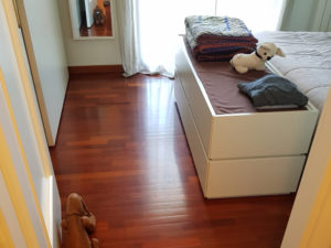 posa parquet camera da letto